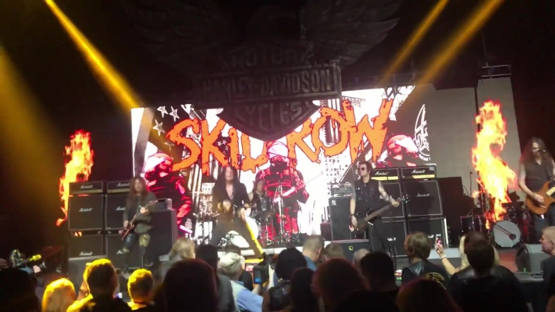 Skid Row - Piece Of Me, Livin On A Chain Gang (Live at H.O.G. Rally, Falcon Club Arena in Minsk, Belarus, 15.09.2018)