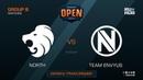 North vs Team EnVyUs - DH Open Tours - de_dust2 [SleepSomeWhile, GodMint]