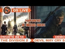 The Division 2 private beta / Devil May Cry 5 demo. Стрим GS LIVE