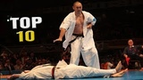 Top 10 Kyokushin Karate Best Knockouts in History
