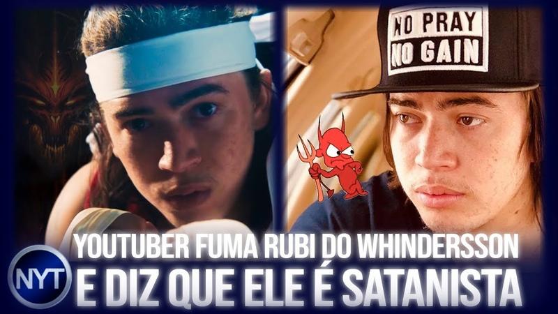 Whindersson Nunes é acusado de colocar SATANlSMO oculto em seu filme e diz que processará YouTuber
