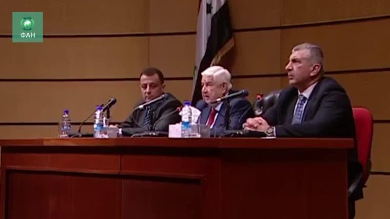 Сирийский министр рассказал о главных приоритетах правительства