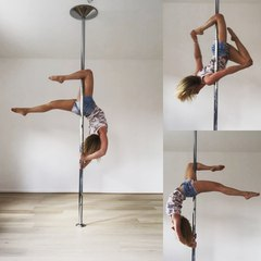 """Didoupole on Instagram: """"✨ Brass grip ✨  A little late for the #favpoletrickchallenge of @leslielili_pole and @boomkats_polewear ✨ I choosed a #pdt..."""