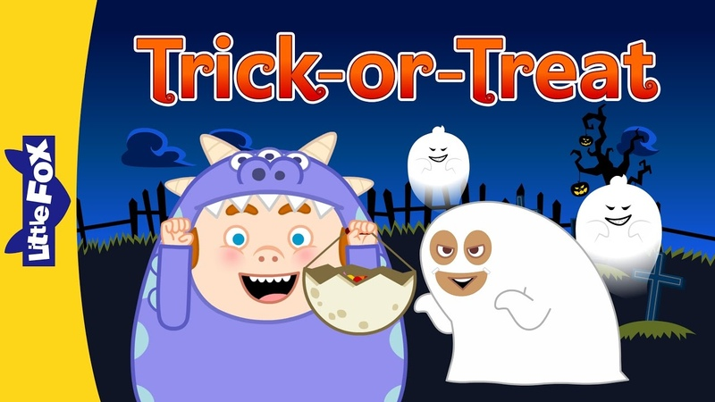 Trick or Treat | Halloween Song for Kids by Little Fox