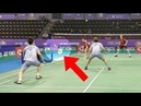 10 Badminton shots If it was not recorded nobody would believe