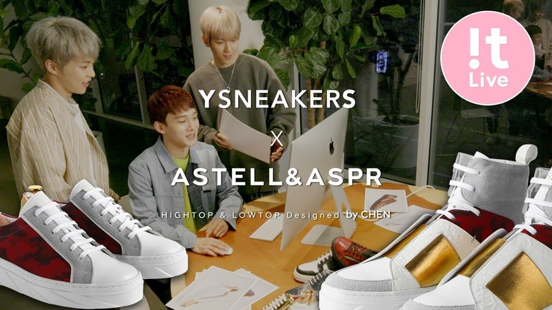 YSNEAKERS X ASTELLASPR Relay Interview - CHEN