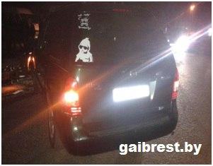 В аг. Ольшаны в ДТП пострадал бесправник-мотоциклист