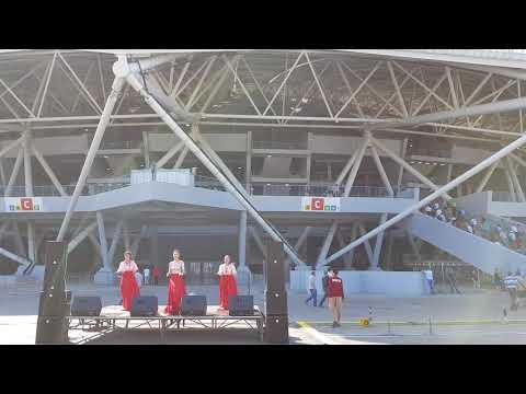 Самара Арена 1 сентября перед игрой