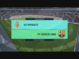 Монако-Барселона. Прощальный матч Титанов PES2018. Увидимся в 19 части.