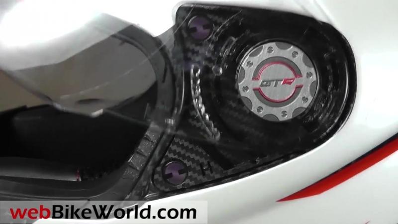 CMS GTRS Carbon DNA Helmet