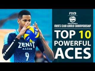 TOP 10 » Powerful ACES - Monster KILL ACES - Club World Championship 2017 (HD)