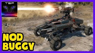 Crossout 34 - NOD Raider Buggy - Low PS Railgun Build and Gameplay