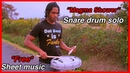 Snare Drum Solo Magma Shower Etude