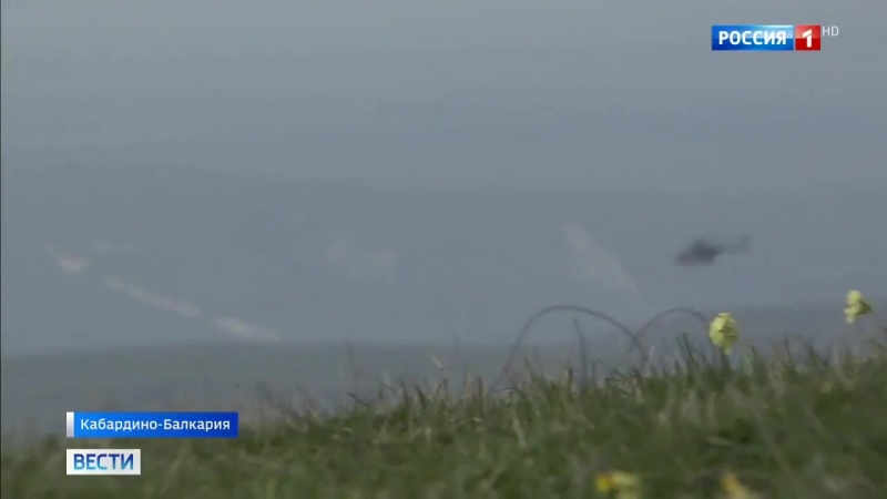 Россия 24 - В Кабардино-Балкарии стартовали горные учения вертолетного полка южного военного округа - Россия 24