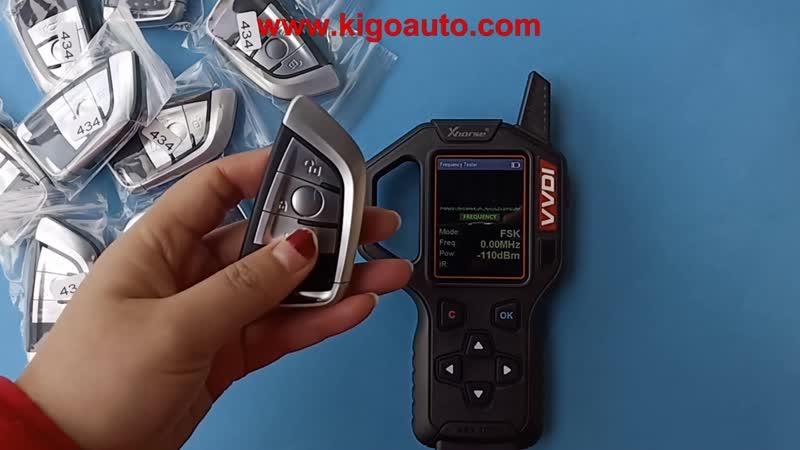 9367398-01 Smart key 3 button 434Mhz for BMW X5 X6