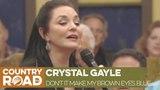 Crystal Gayle sings