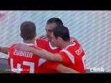 Сборная России - сборная Турции. Гол Александра Самедова