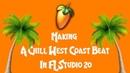 MAKING A CHILL WEST COAST BEAT IN FL STUDIO 20   BlakKat206 (LA/Bay Area/G-Funk Type Beat)