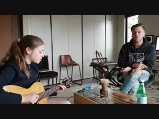 Кавер на песню Ed Sheeran happier в исполнении Ryan tedder with Allie Sherlock