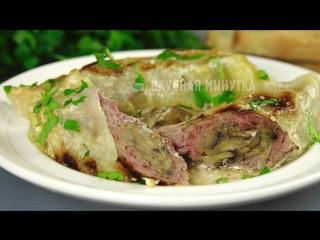 Мое любимое блюдо из мяса! Вкуснейшая телятина, запеченная под капустными листья