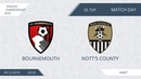 AFL18. England. Championship. Day 35. Bournemouth - Nott's County