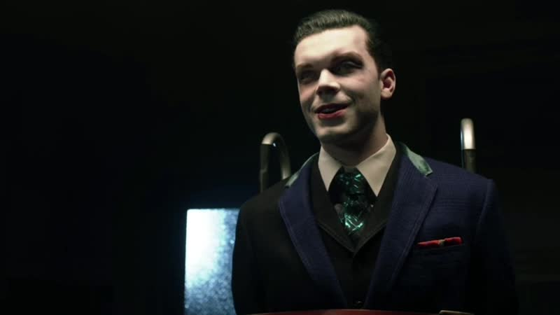GOTHAM • SEASON 4x22• Bruce talks about the bombs with Jeremiah