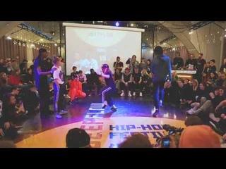 Nali & Rubix VS Shada & Cartoon - FINAL - Ukraine NBA Dance Battle 2019 | Danceproject.info