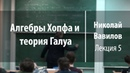 Лекция 5   Алгебры Хопфа и теория Галуа   Николай Вавилов   Лекториум