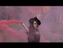Красный дым Смокинг Фонтан 60сек
