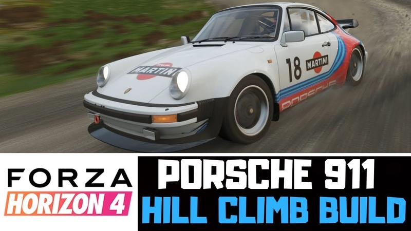 Forza Horizon 4 | 1982 Porsche 911 Turbo | Hill Climb Build