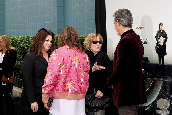 """Мелисса МакКарти посетила премьеру драмы """"Сможете ли вы меня простить"""" в Нью-Йорке"""