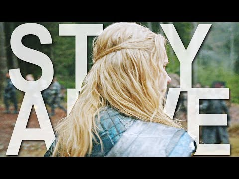 The 100 stay alive