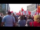 Митинг против пенсионного геноцида 22 сентября Шествие Путина в отставку