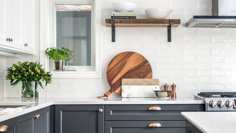 Interior Design — A Two-Toned Kitchen Makeover