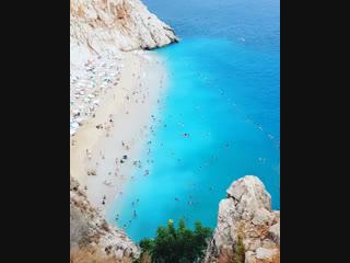 Пляж Капуташ | Экскурсии в Турции из Кемера от «Ginza Travel»