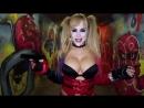Harley Quinn cosplay by Katie Banks порно секс эротика попка booty anal анал сиськи boobs brazzers