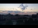 Sunset in Togliatti.