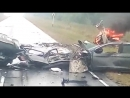 Хонду уничтожило в аварии на трассе Р-255