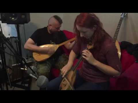 The Witcher Tales Thronebreaker recording session - saz kemenche (Percival)