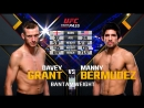 UFC FN 134 David Grant vs. Manny Bermudez