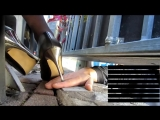 Unknown crush, candid trample ( hand trample ) by hot milf