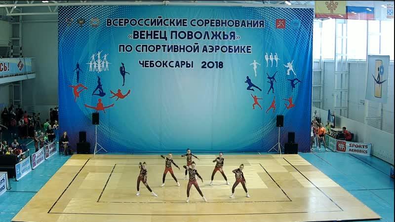 Венец Поволжья 2018 ТГ 9-11