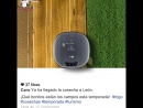 LG HomBot robot vacuum cleaner