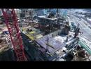 Видеоотчет со строительной площадки Соснового квартала