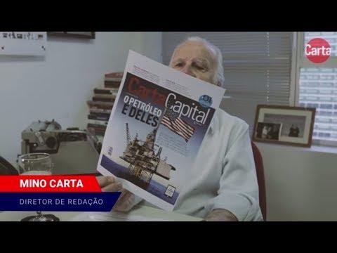 Mino Carta: Há ligação precisa entre desmonte da Petrobras, leilão do pré-sal e Lava-Jato