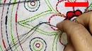 Nakshi kantha design stitch 103 PART 1 how to stitch nakshi kantha নকশী কাঁথা সেলাই नक्षी कंध सिला