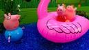 Peppa Pig nuovi episodi. Giochi nella piscina per bambini