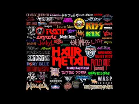 80's Hair Band Megamix Pt. 1 by DJ Dark Kent(Warrant, Whitesnake, Quiet riot...)
