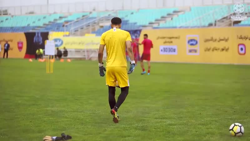 I had to work really hard, doing different jobs, just to have somewhere to sleep at night - - Watch IR Iran goalkeeper Alireza B