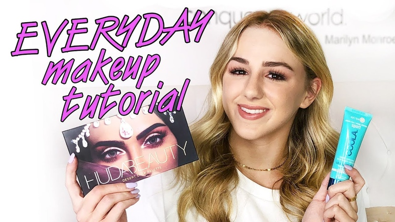 Everyday Makeup Tutorial Summer Edition | Chloe Lukasiak